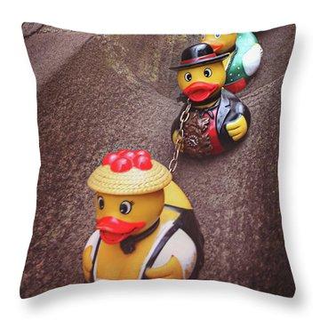 Rubber Ducky Throw Pillows