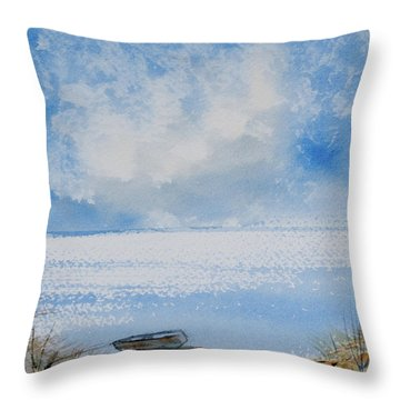 Waiting For Sailor's Return Throw Pillow