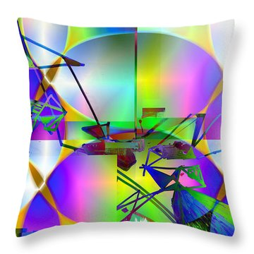 Waiting For Spring.. Throw Pillow
