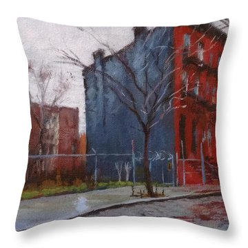 Waiting For Spring No. 2 Throw Pillow by Peter Salwen