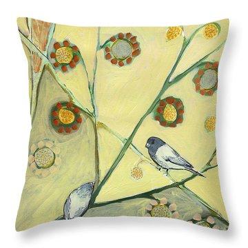 Sparrow Throw Pillows