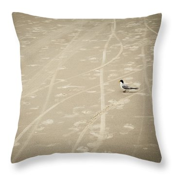 Throw Pillow featuring the photograph Waiting My Turn by Carolyn Marshall