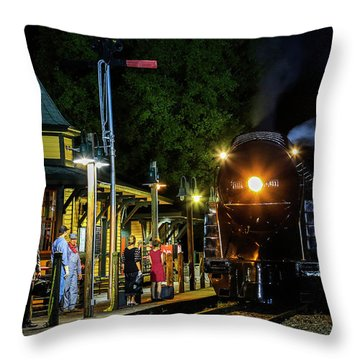 Waiting On The 611 Throw Pillow