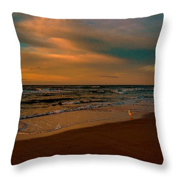Waiting On The Dawn Throw Pillow