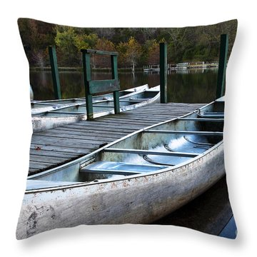 Throw Pillow featuring the photograph Waiting by Tamyra Ayles