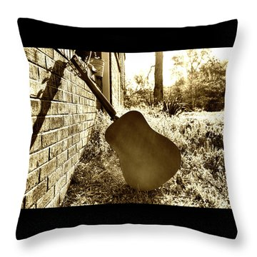 Waiting To Play Throw Pillow
