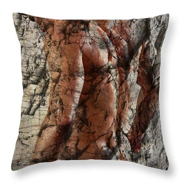 Waiting  To The One  Throw Pillow by Mark Ashkenazi