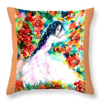 Waiting True Love Throw Pillow