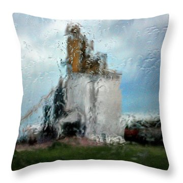 Waitng Throw Pillow