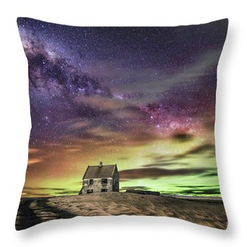 Wake Up And Start To Dream Throw Pillow