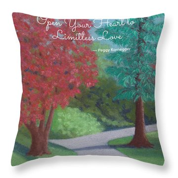 Waking Up - With Quote Throw Pillow