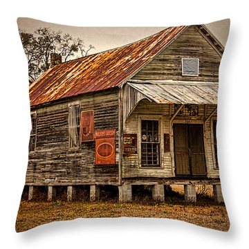 Waldens Grocery Throw Pillow