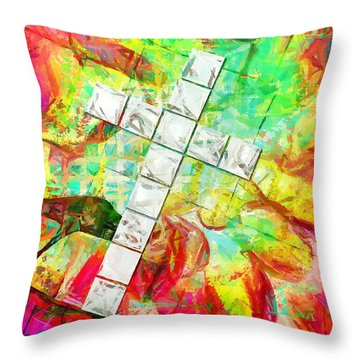 Walk Humbly With Thy God Throw Pillow