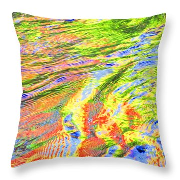Walk In Glory Throw Pillow