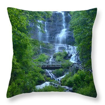 Walk In The Park Throw Pillow