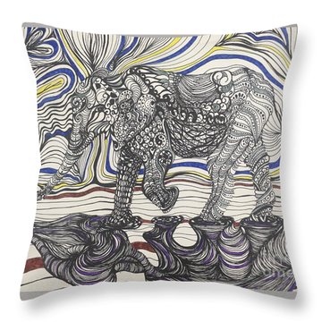 Walk With Me Throw Pillow