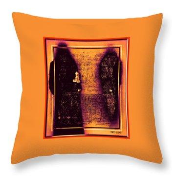 Walk With The Forbidden Throw Pillow by Tony Adamo