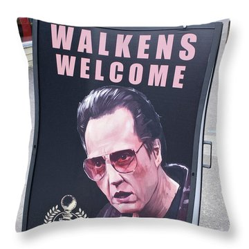Walkens Welcome Throw Pillow