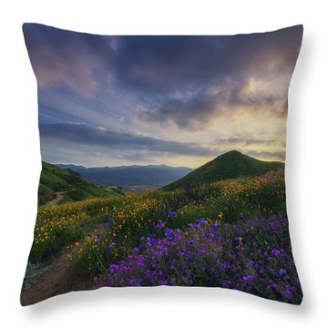 Walker Canyon Throw Pillow