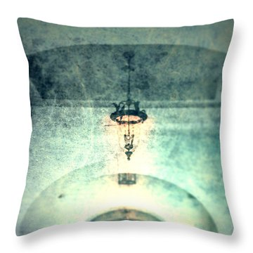 Throw Pillow featuring the photograph Walkin' Home  by Mark Ross