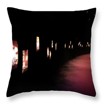 Walking Among The Stories Throw Pillow