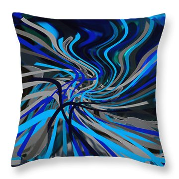 Walking Between Heaven And Earth. Throw Pillow