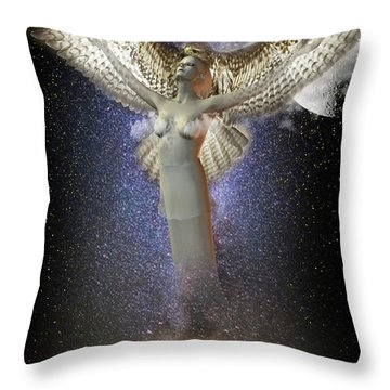 Walking In The Air Throw Pillow