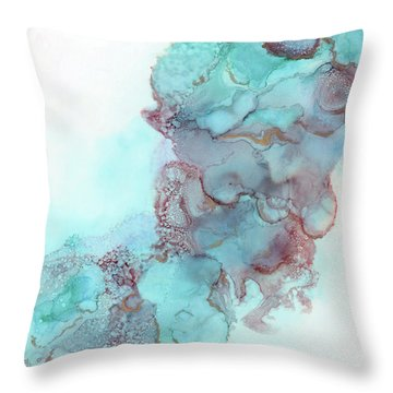 Walking In The Sky Throw Pillow