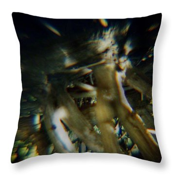 Walking Tall Throw Pillow