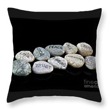 Walking The Right Path Throw Pillow