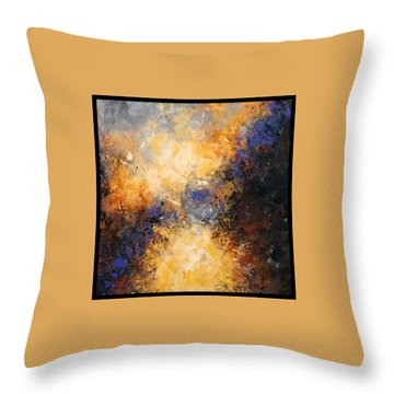 Walking Towards The Light Throw Pillow by Suzzanna Frank