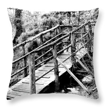 Walkway Throw Pillow by William Dey