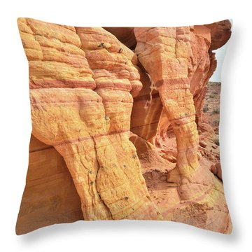 Throw Pillow featuring the photograph Wall Arches In North Valley Of Fire by Ray Mathis