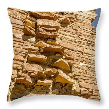Wall At Una Vida Throw Pillow