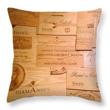 California Throw Pillows