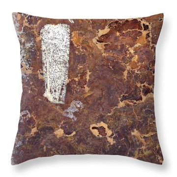 Wall In Puerto Rico Throw Pillow