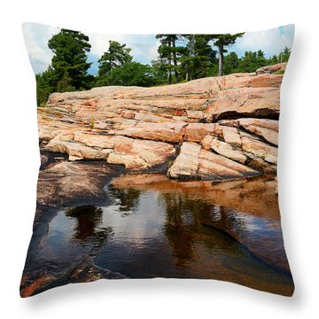 Wall Island Colours Throw Pillow