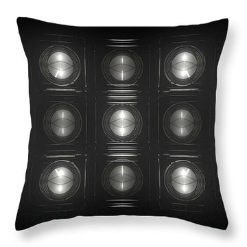 Wall Of Roundels - 5x3 Throw Pillow