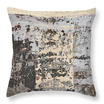 Wall Texture Number 14 Throw Pillow