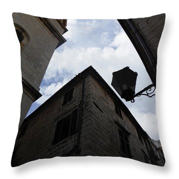 Walls And Skies II Throw Pillow