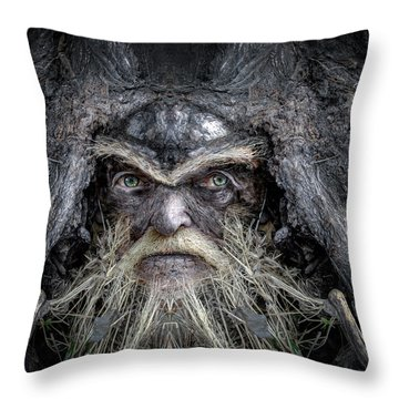Wally Woodfury Throw Pillow