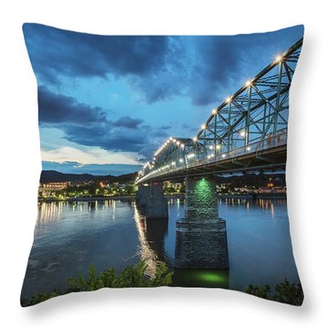 Walnut At Night Throw Pillow