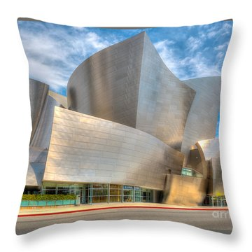 Walt Disney Concert Hall - Los Angeles Throw Pillow