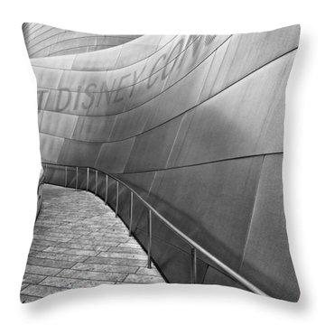 Walt Disney Concert Hall One Throw Pillow