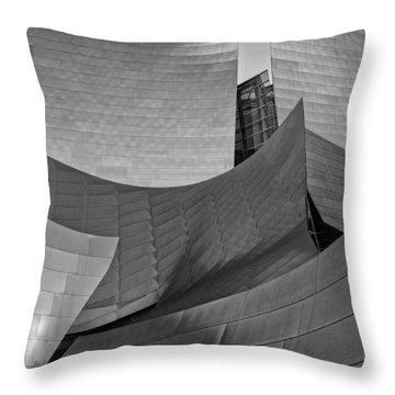 Walt Disney Concert Hall Two Throw Pillow