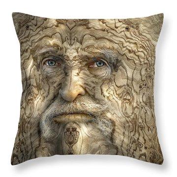 Walter Burley Throw Pillow