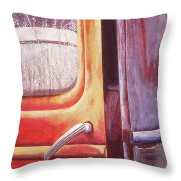 Walter Throw Pillow by Laurie Stewart