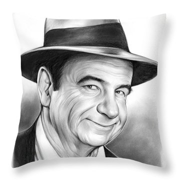 Walter Matthau Throw Pillow