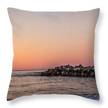 Walton At Sunset Throw Pillow