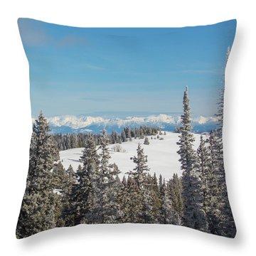 Walton Peak  Throw Pillow